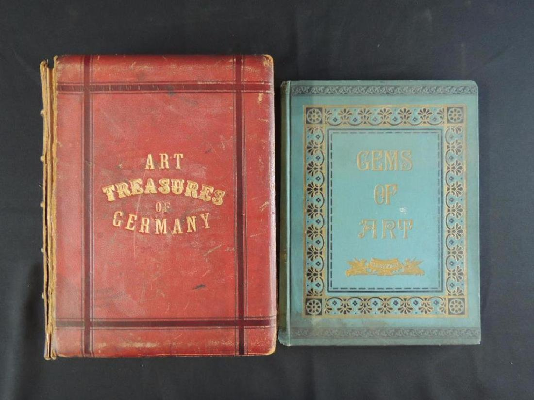 Art Treasures of Germany and Gems of Art Antique Books