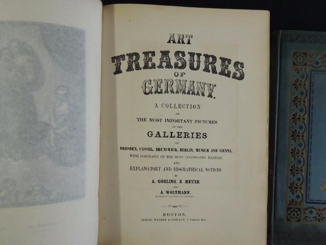 Art Treasures of Germany and Gems of Art Antique Books - 3