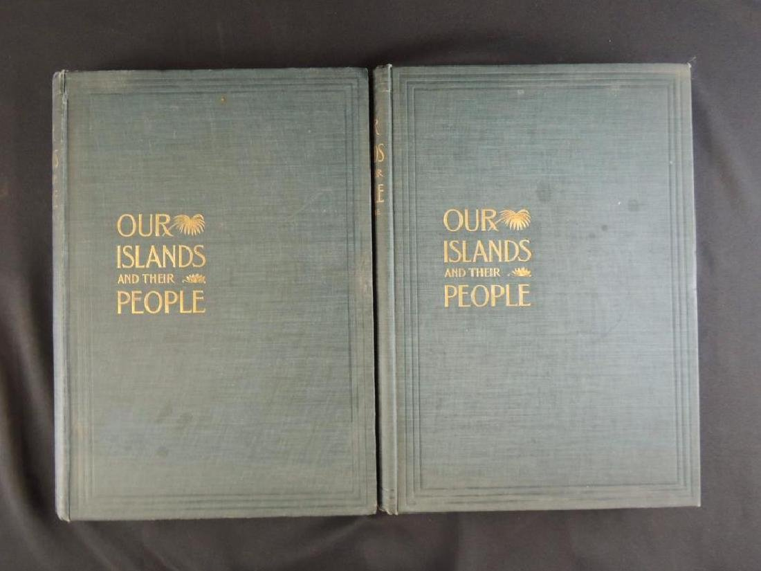 1899 Vol. 1 and 2 of Our Islands and Their People