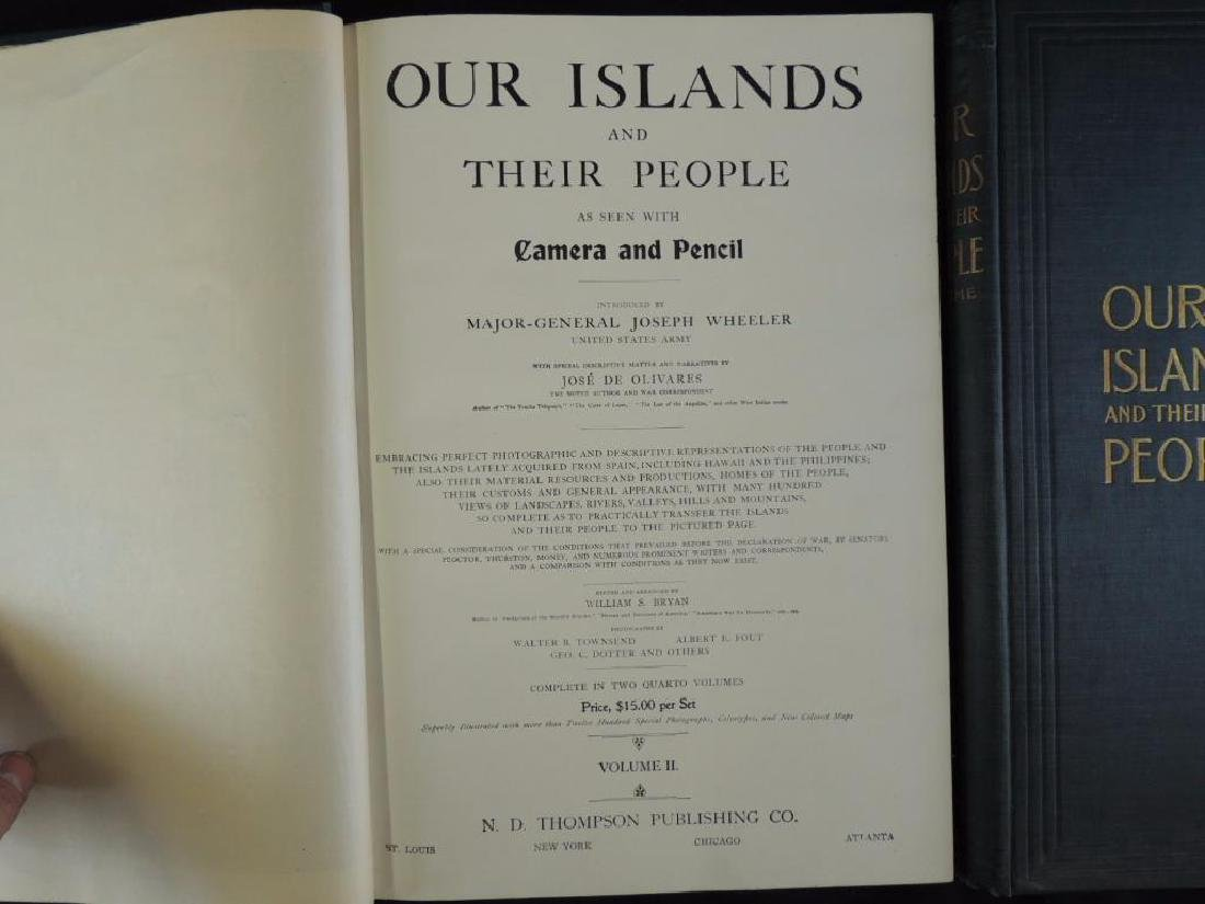 1899 Vol. 1 and 2 of Our Islands and Their People - 2