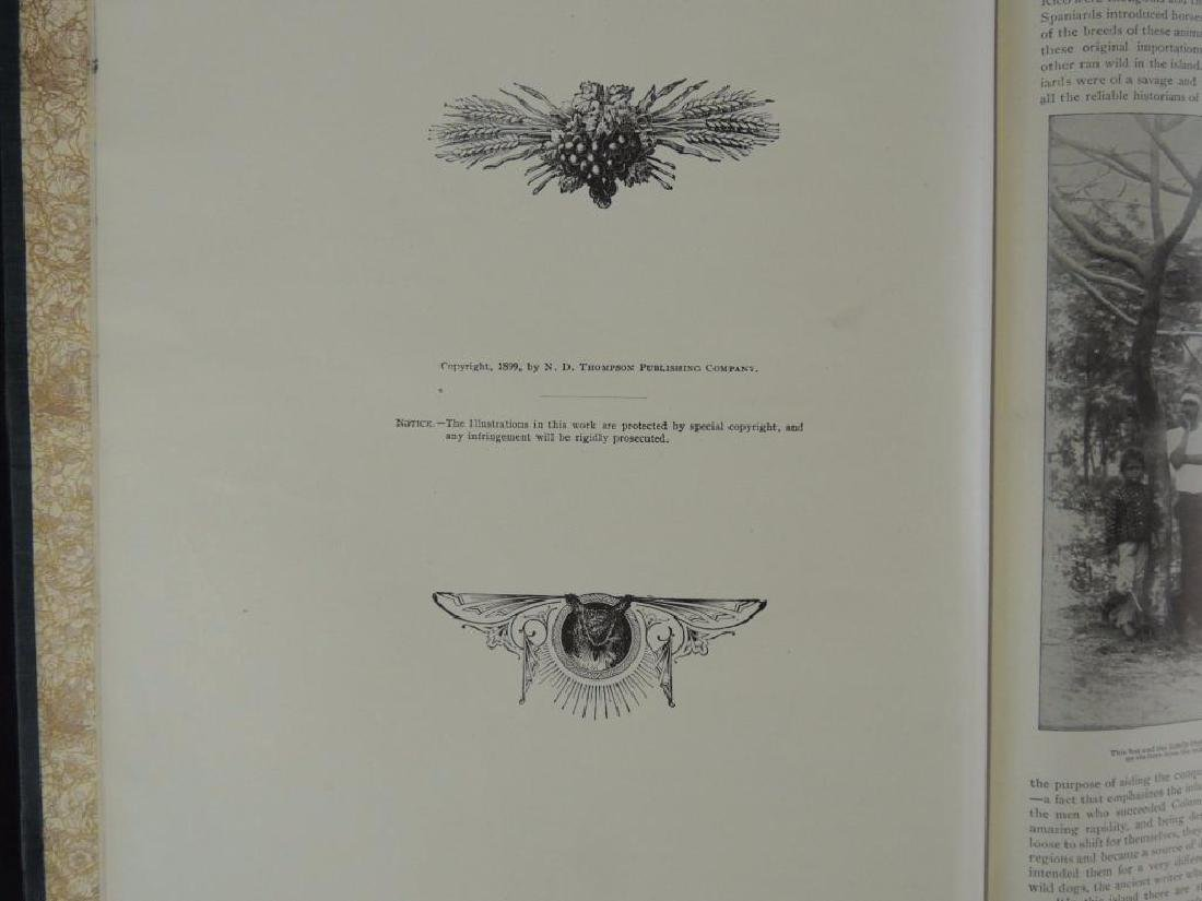 1899 Vol. 1 and 2 of Our Islands and Their People - 3