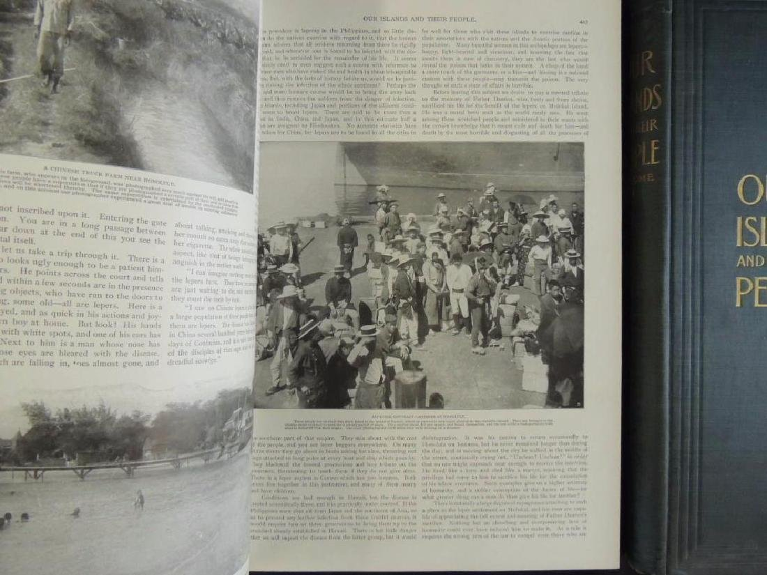 1899 Vol. 1 and 2 of Our Islands and Their People - 4