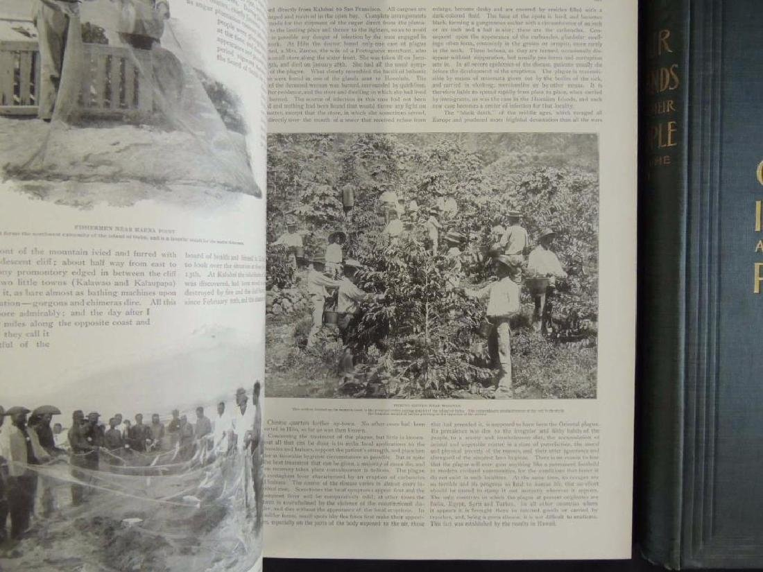 1899 Vol. 1 and 2 of Our Islands and Their People - 5