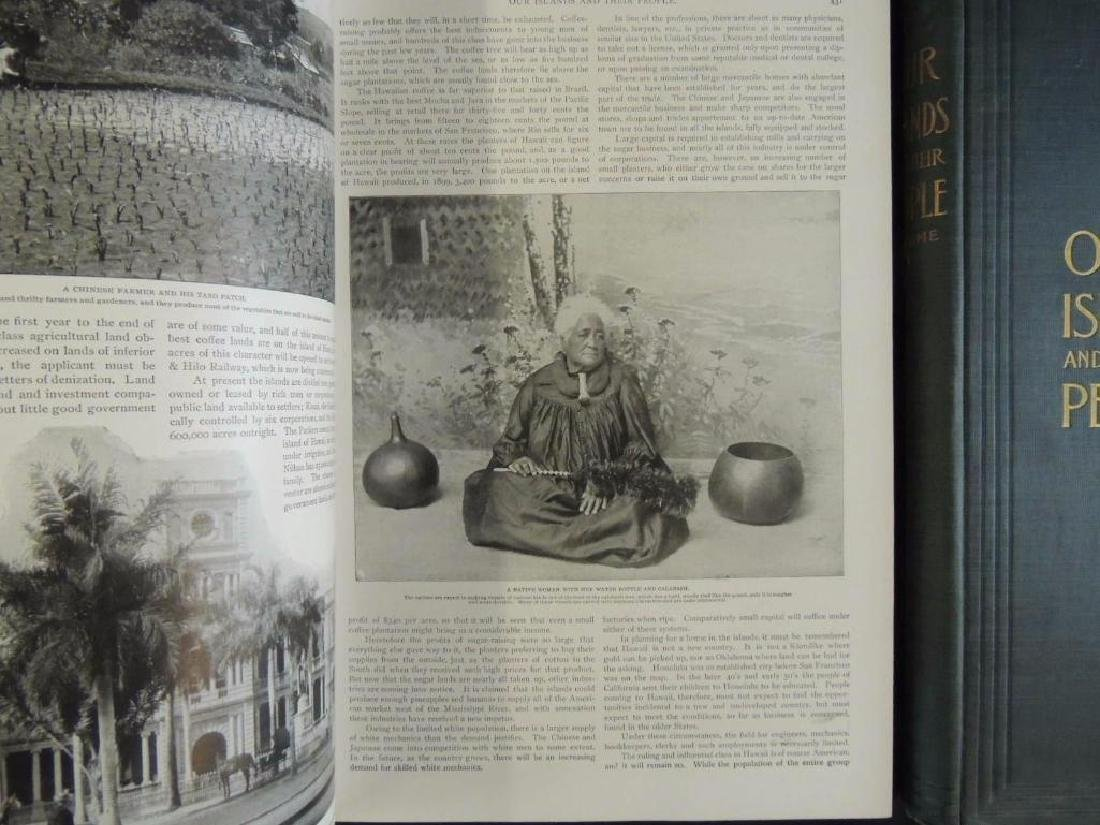 1899 Vol. 1 and 2 of Our Islands and Their People - 6