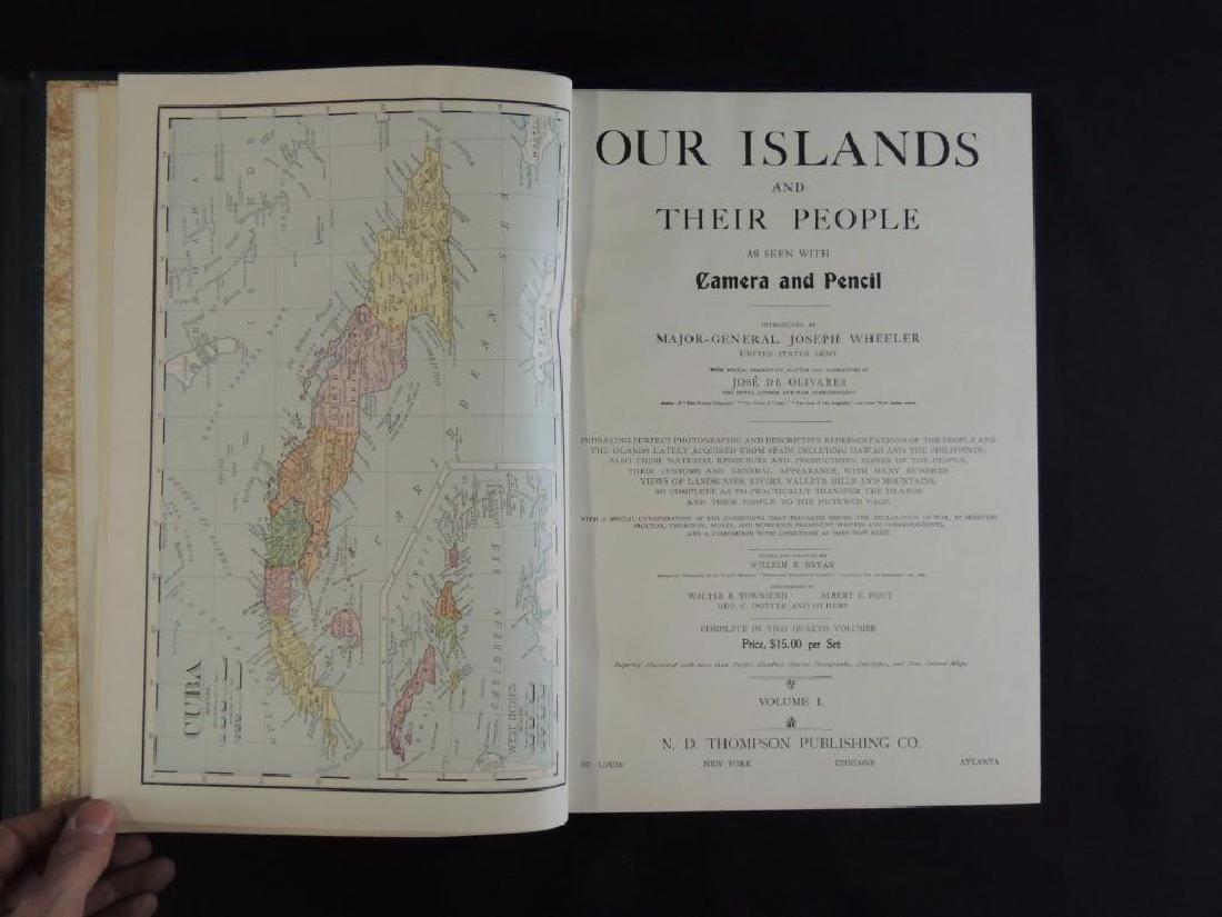 1899 Vol. 1 and 2 of Our Islands and Their People - 9