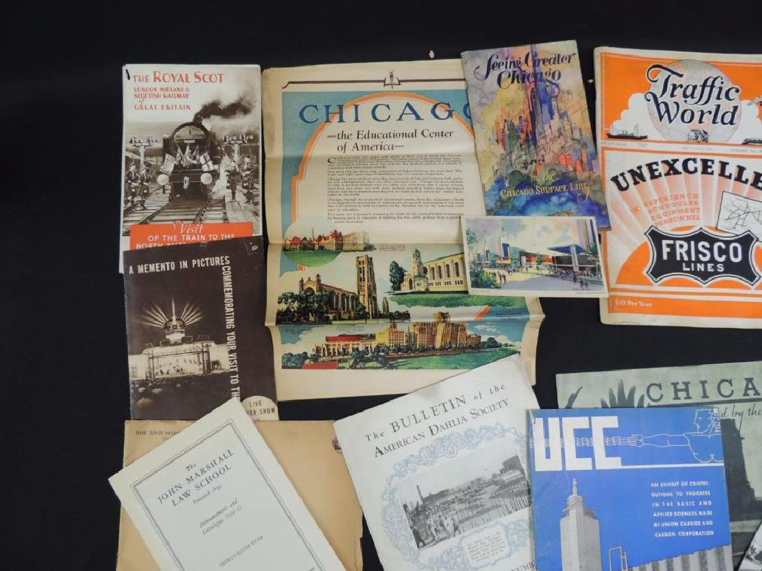 Group of 1933-34 Chicago World's Fair Ephemera - 2