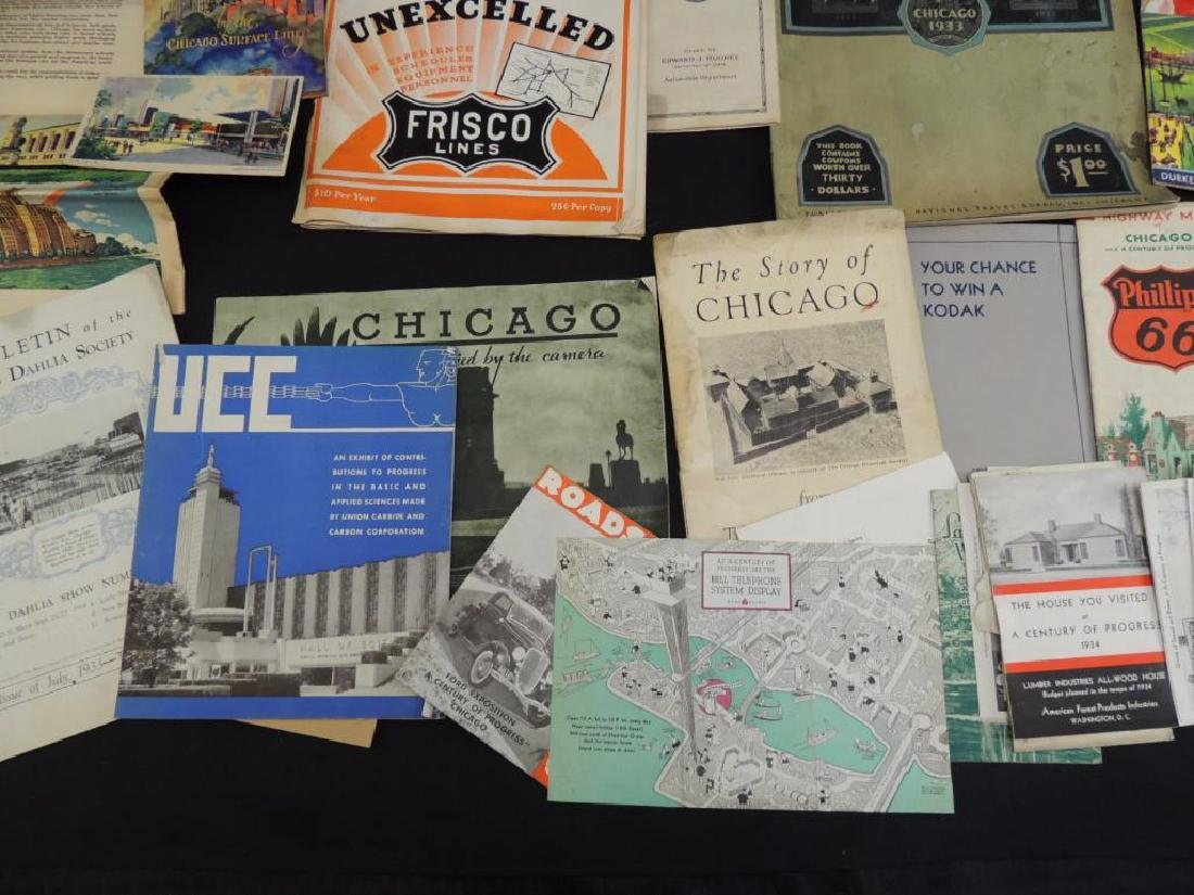 Group of 1933-34 Chicago World's Fair Ephemera - 4