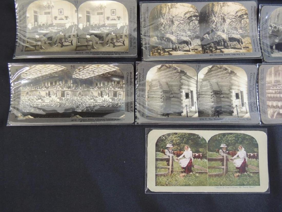 Group of 16 Stereographs Featuring Zeppelin, - 4