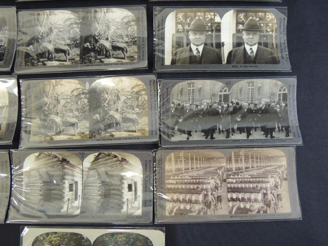 Group of 16 Stereographs Featuring Zeppelin, - 5