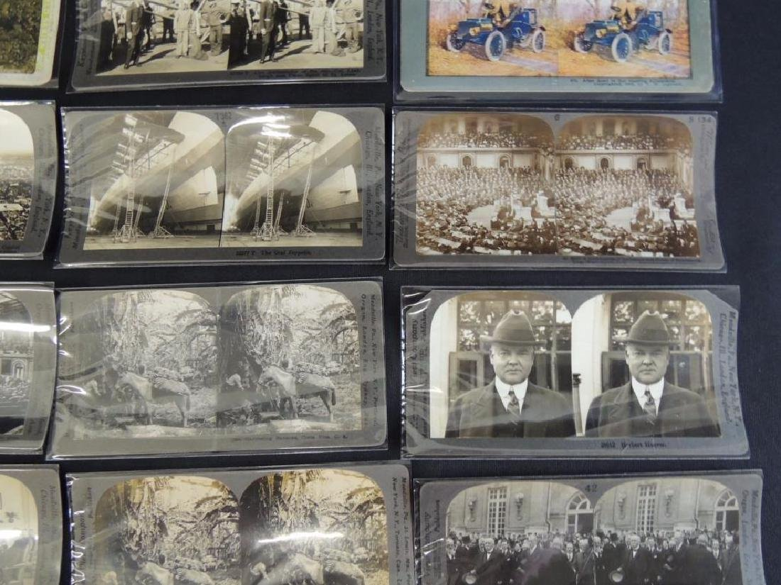 Group of 16 Stereographs Featuring Zeppelin, - 6