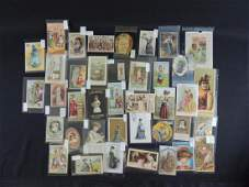 Group of 39 Victorian Trade Cards