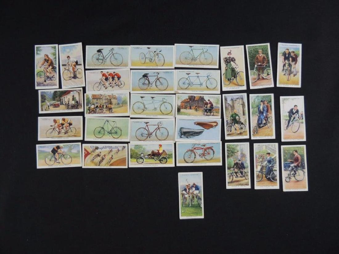 "Group of 32 Players ""Cycling"" Cigarette Cards"