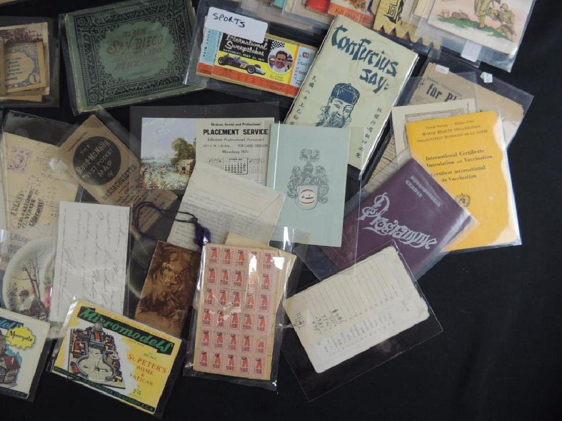 Group of Mining, Cooking, and Other Ephemera - 3