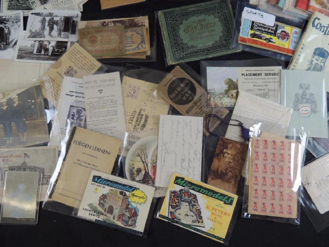 Group of Mining, Cooking, and Other Ephemera - 4