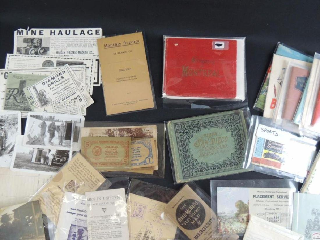 Group of Mining, Cooking, and Other Ephemera - 5