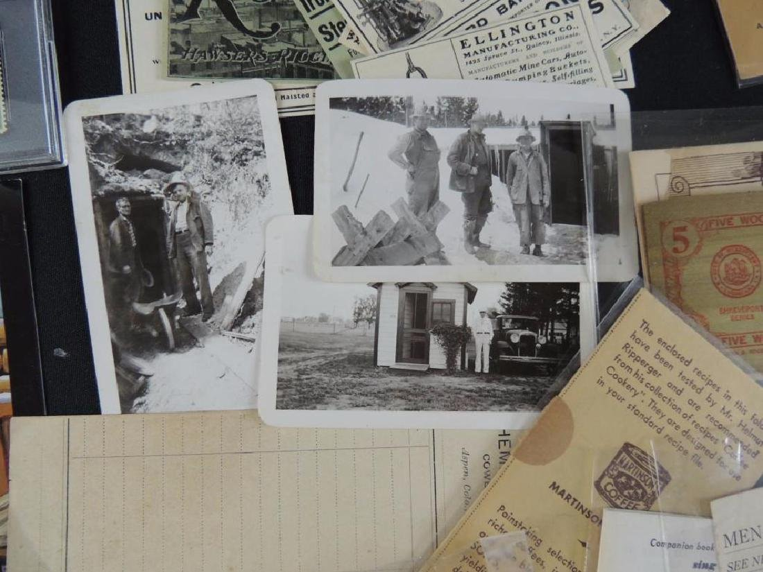 Group of Mining, Cooking, and Other Ephemera - 9