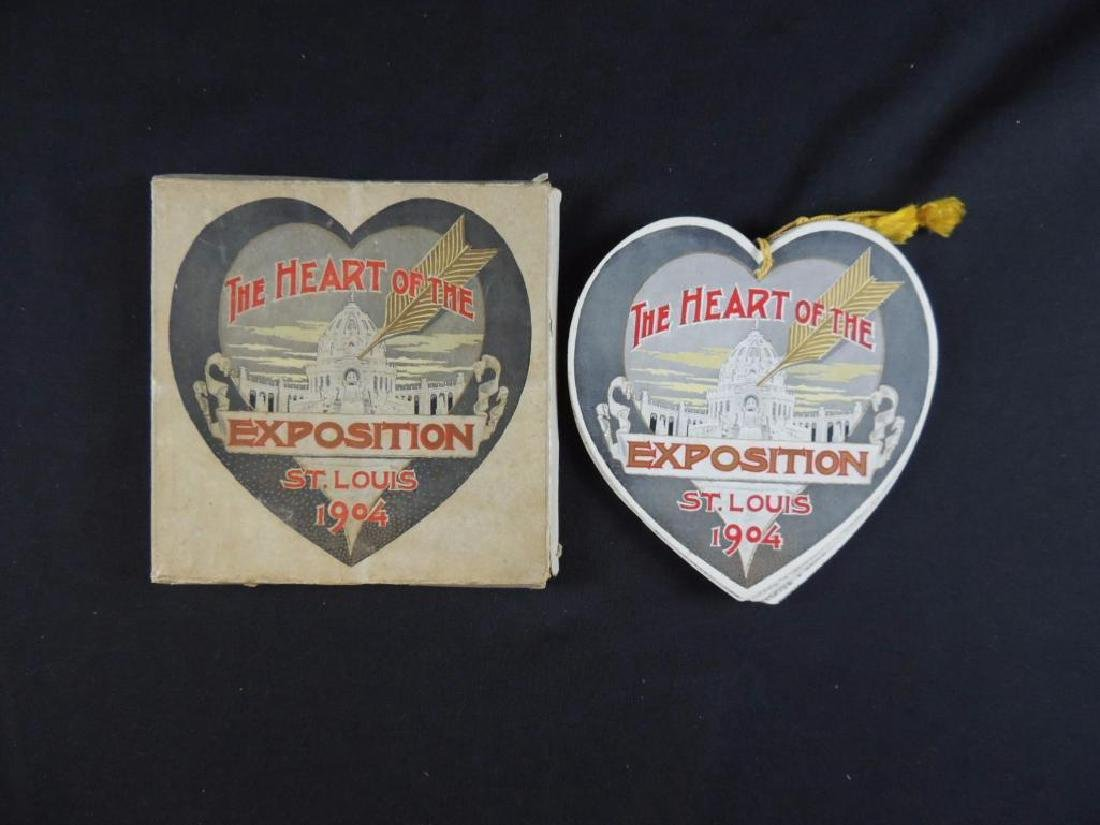 1904 The Heart of the Exposition St. Louis Souvenir