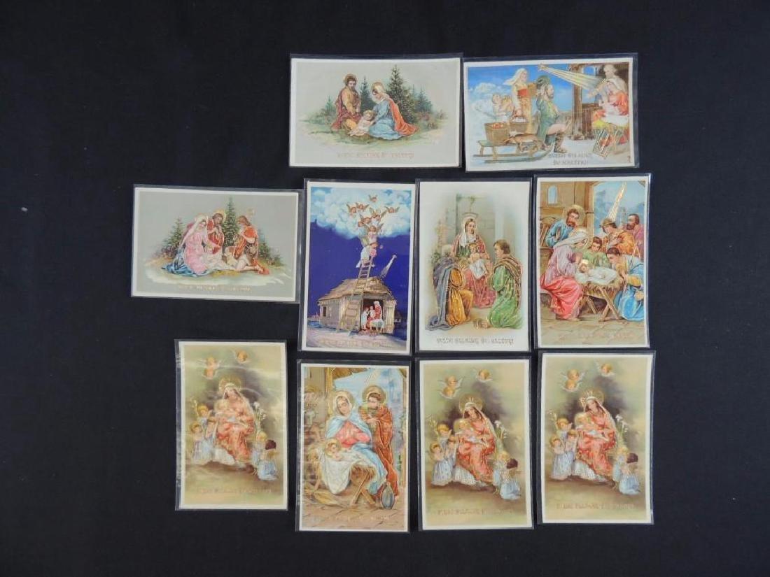 Set of 10 Lithuanian Christmas Cards