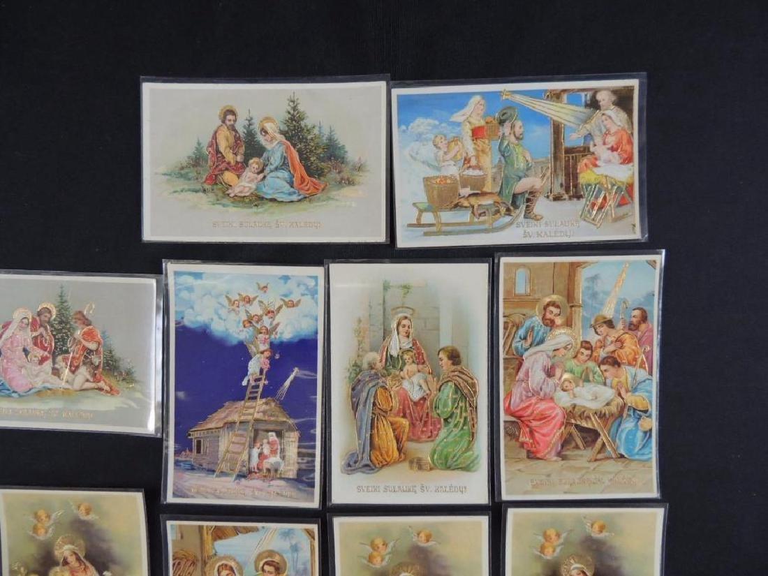 Set of 10 Lithuanian Christmas Cards - 2