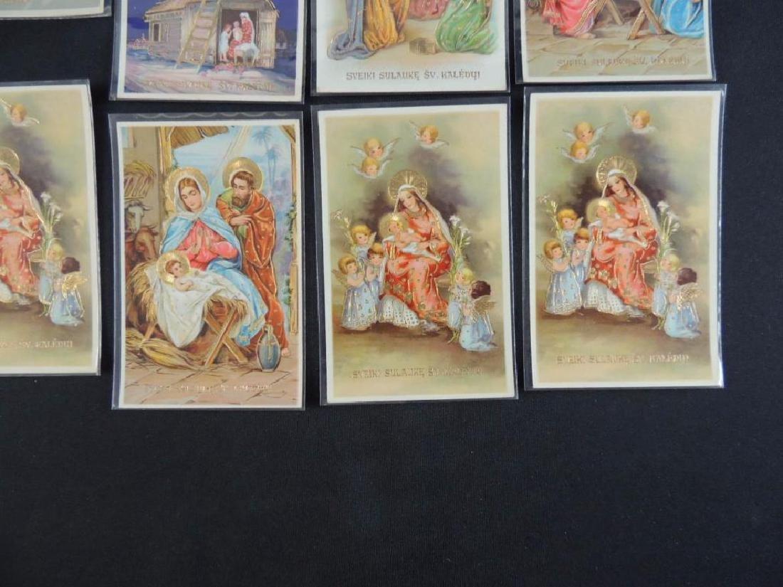 Set of 10 Lithuanian Christmas Cards - 3
