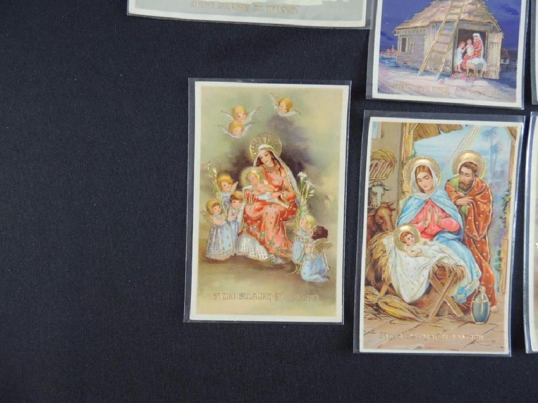 Set of 10 Lithuanian Christmas Cards - 5