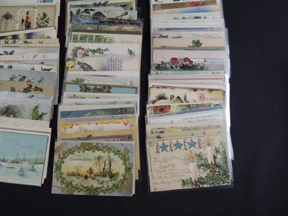 Group of Approximately 200 Plus Christmas Postcards - 2