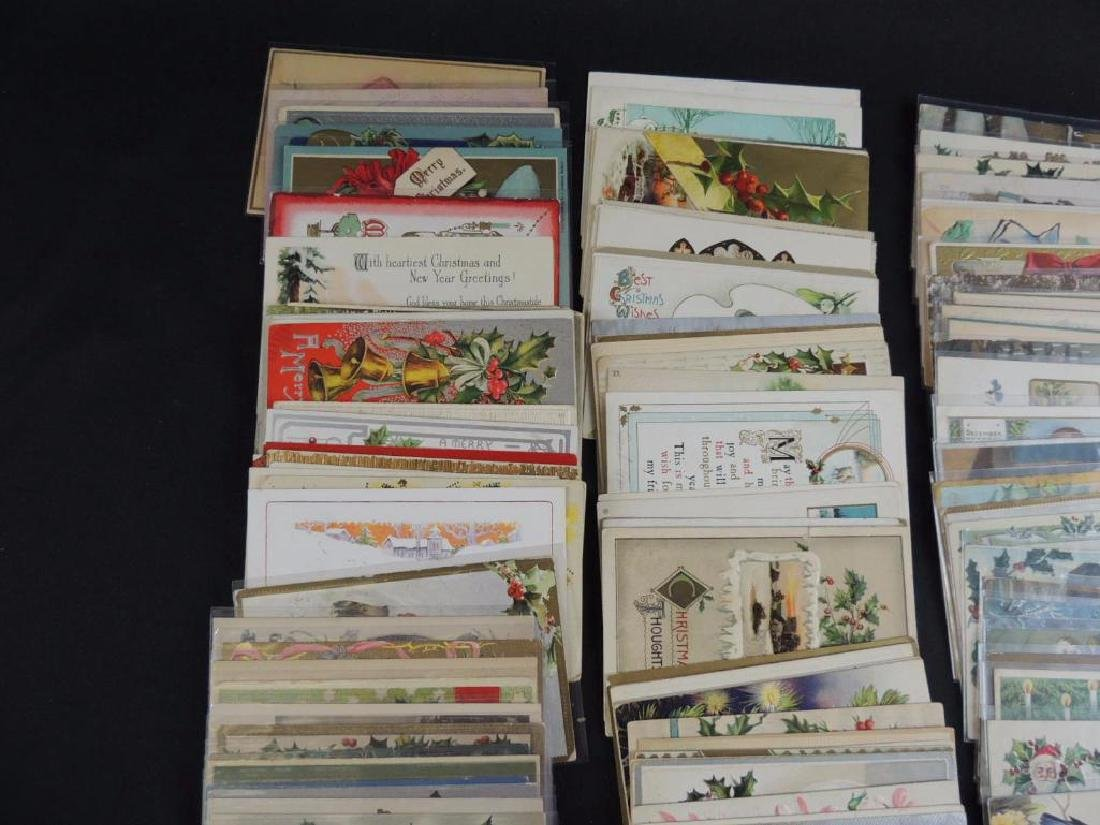Group of Approximately 200 Plus Christmas Postcards - 4