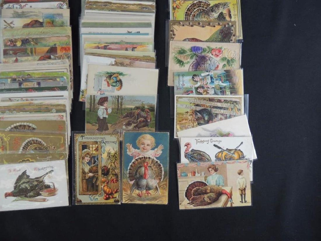 Group of Approximately 100 Plus Thanksgiving Postcards - 2