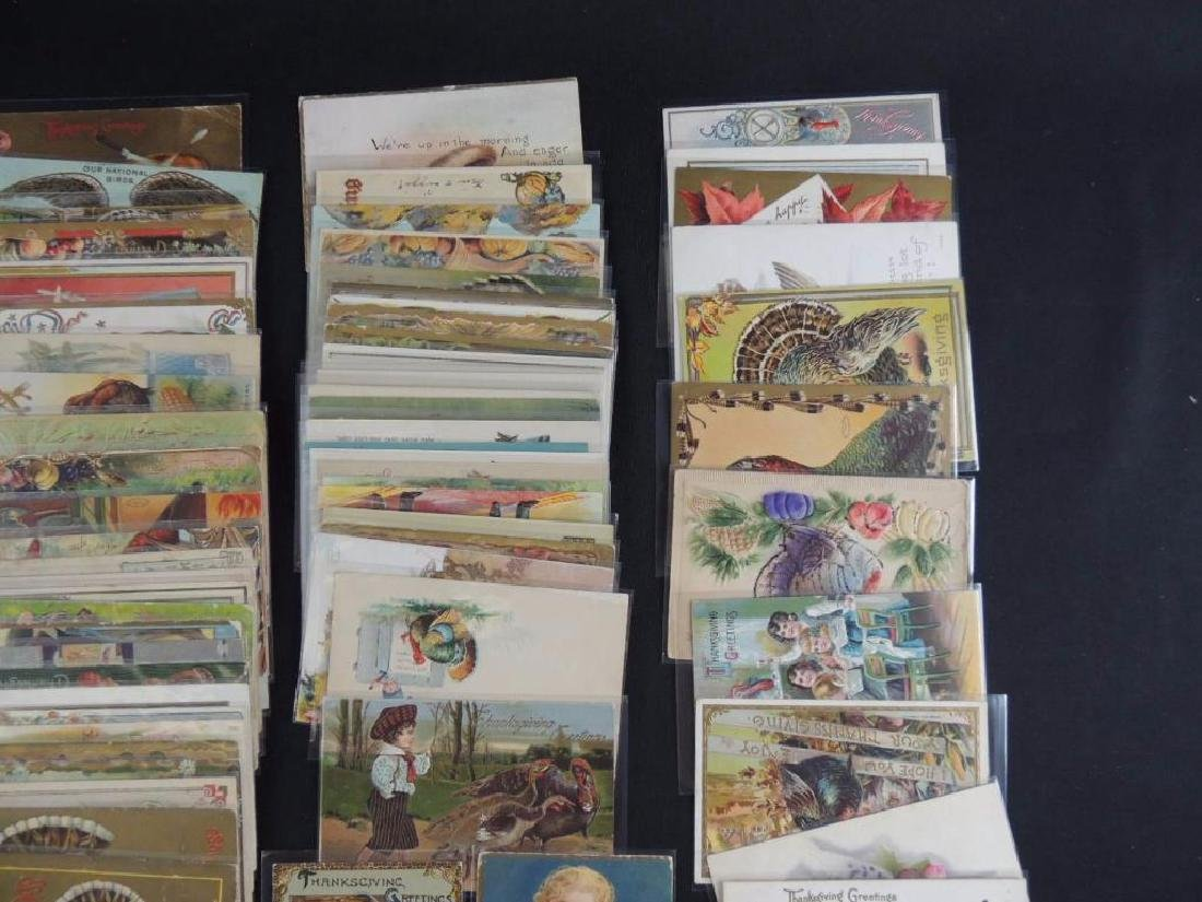Group of Approximately 100 Plus Thanksgiving Postcards - 3