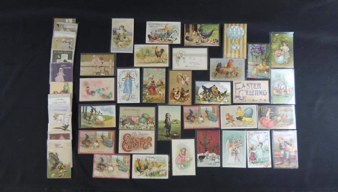 Approximately 50 Plus Easter Postcards