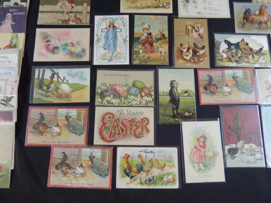 Approximately 50 Plus Easter Postcards - 4