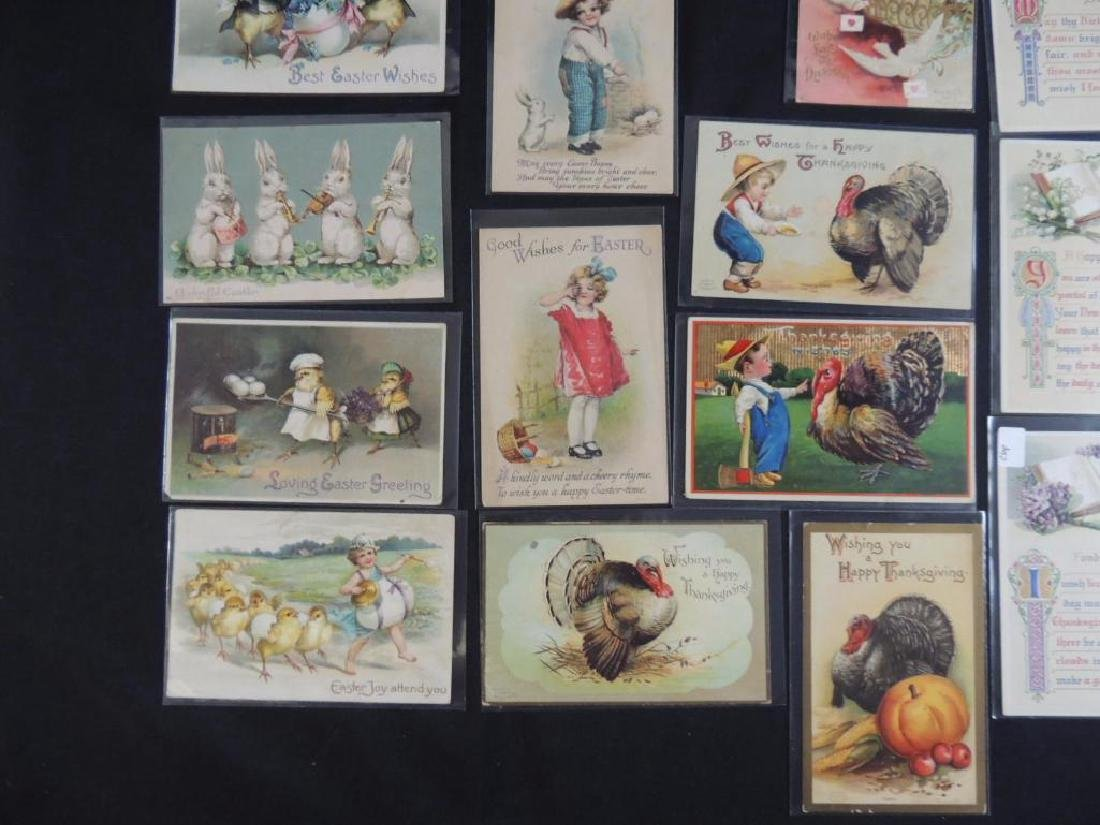 22 Various Holiday Postcards Mostly Signed - 4
