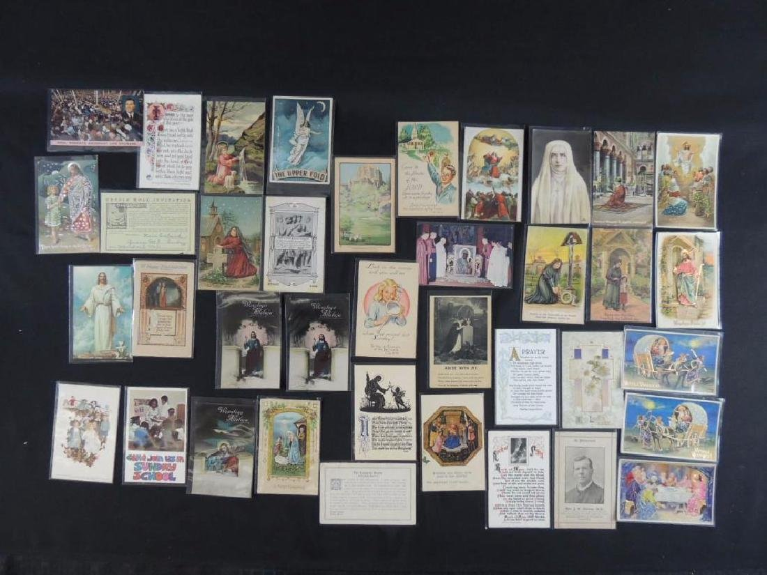 Group of 38 Religious Postcards