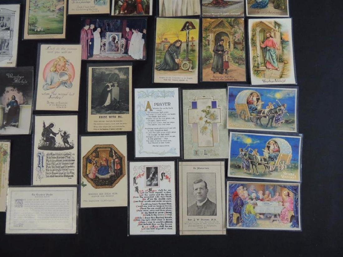 Group of 38 Religious Postcards - 3