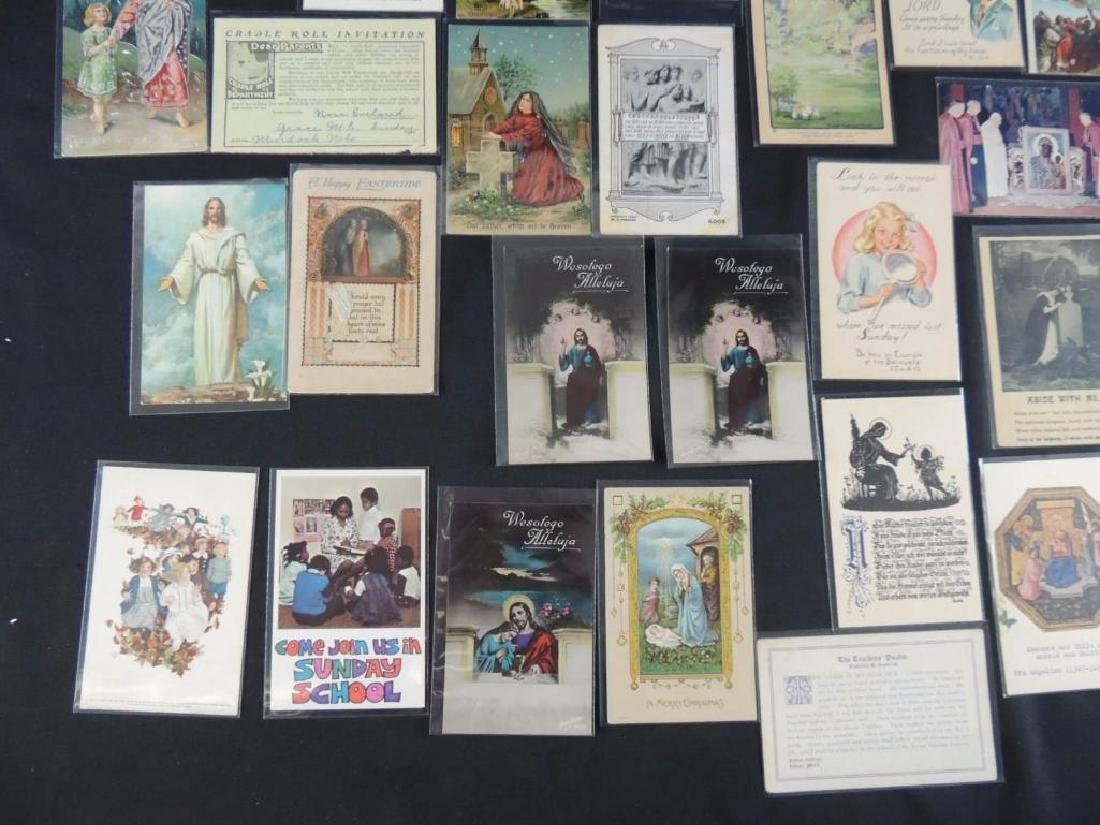 Group of 38 Religious Postcards - 4