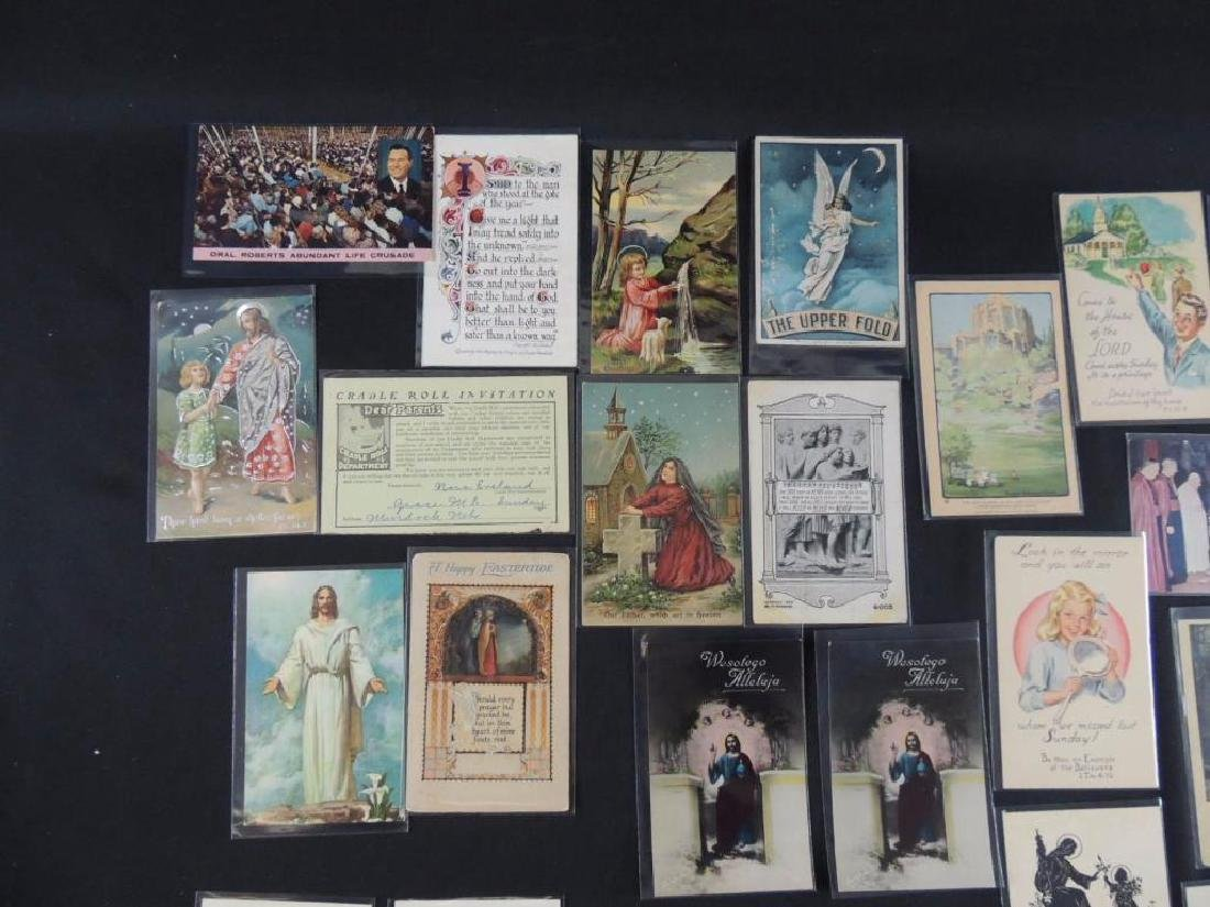 Group of 38 Religious Postcards - 5