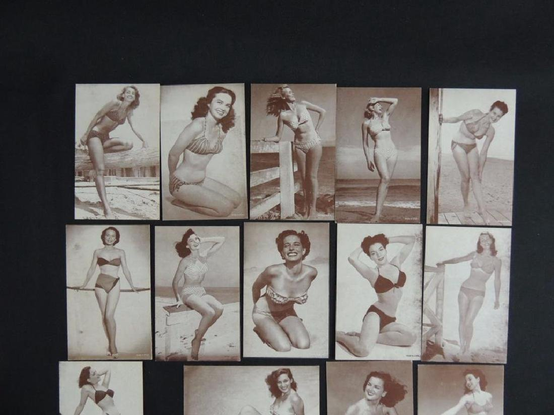 Group of 18 Women Exhibit Cards - 2
