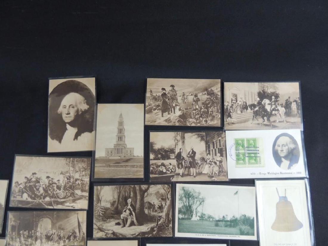 Group of 24 Commemorative Washington Postcards - 2