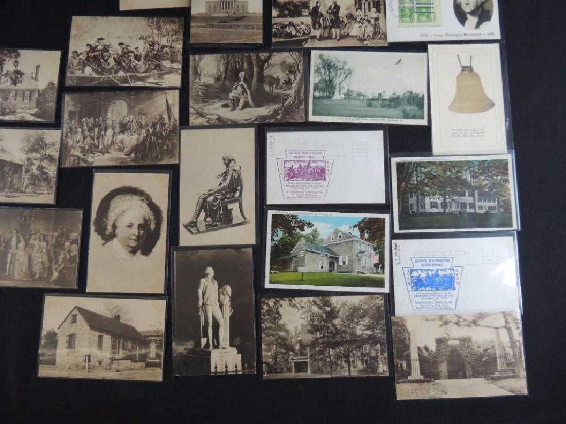 Group of 24 Commemorative Washington Postcards - 3