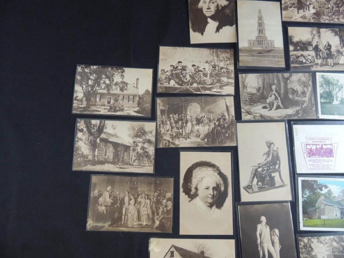 Group of 24 Commemorative Washington Postcards - 4