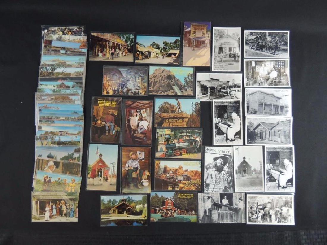 Approximately 60 Plus Knott's Berry Farm Postcards