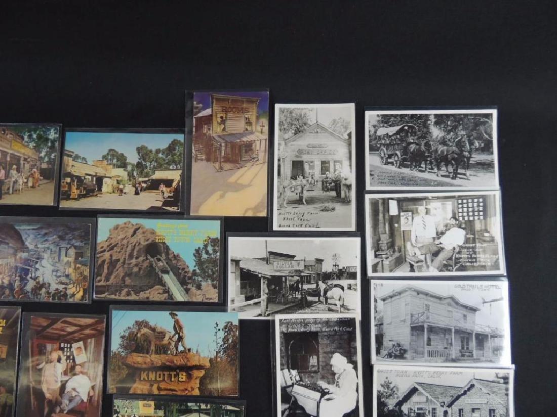 Approximately 60 Plus Knott's Berry Farm Postcards - 2