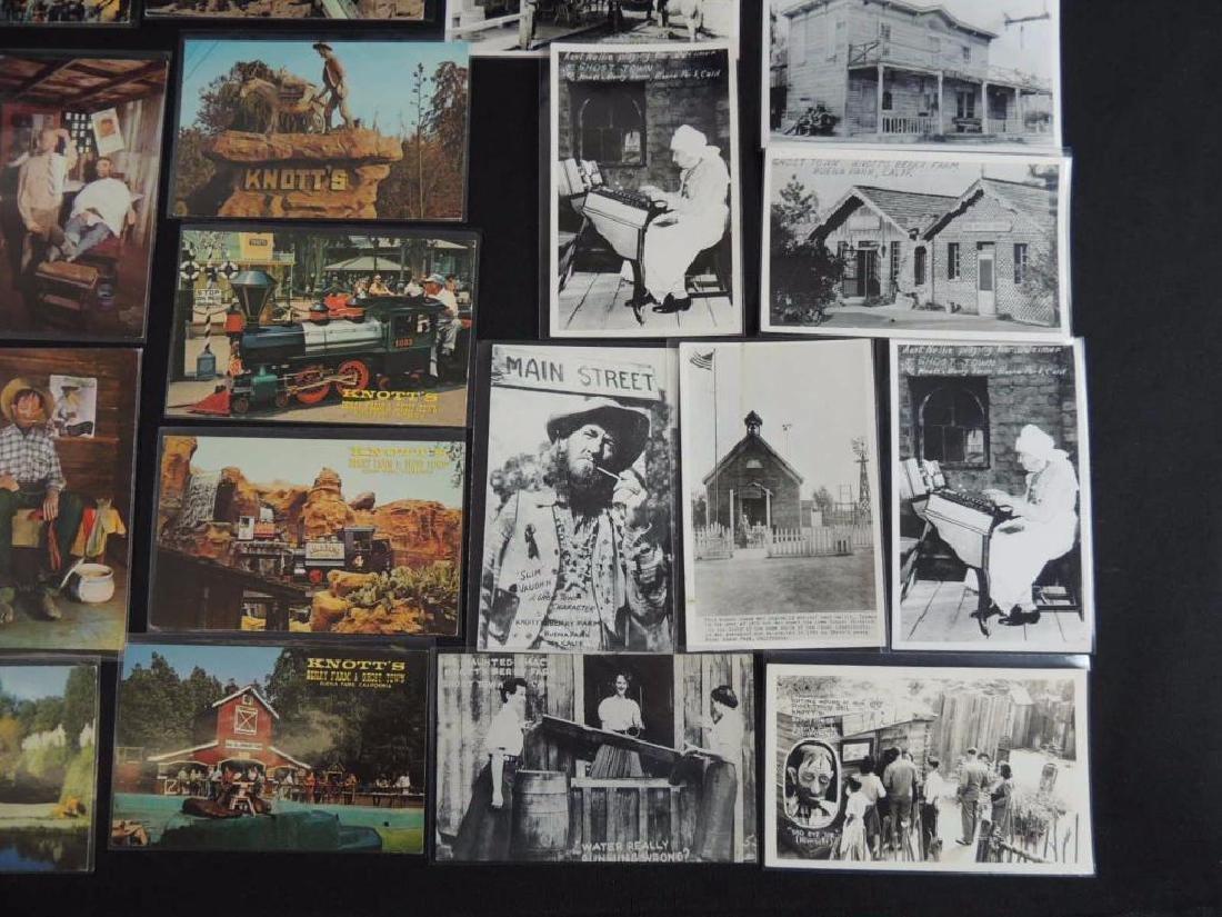 Approximately 60 Plus Knott's Berry Farm Postcards - 3
