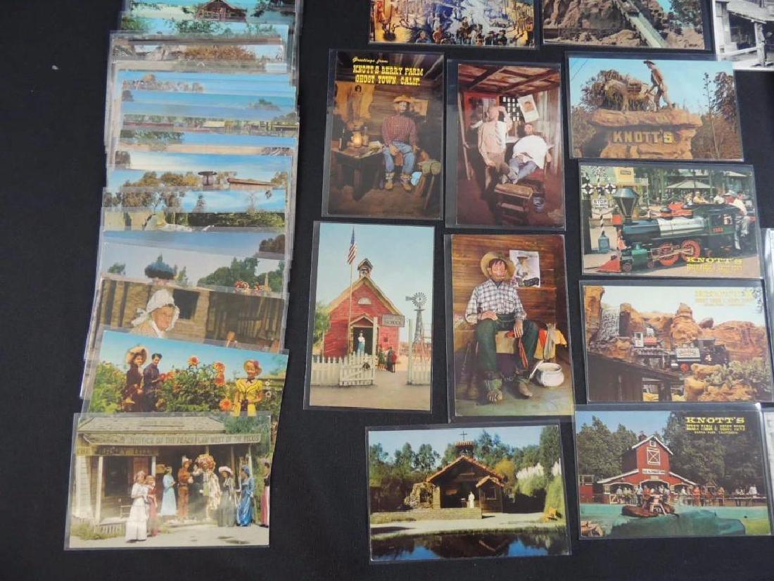 Approximately 60 Plus Knott's Berry Farm Postcards - 4