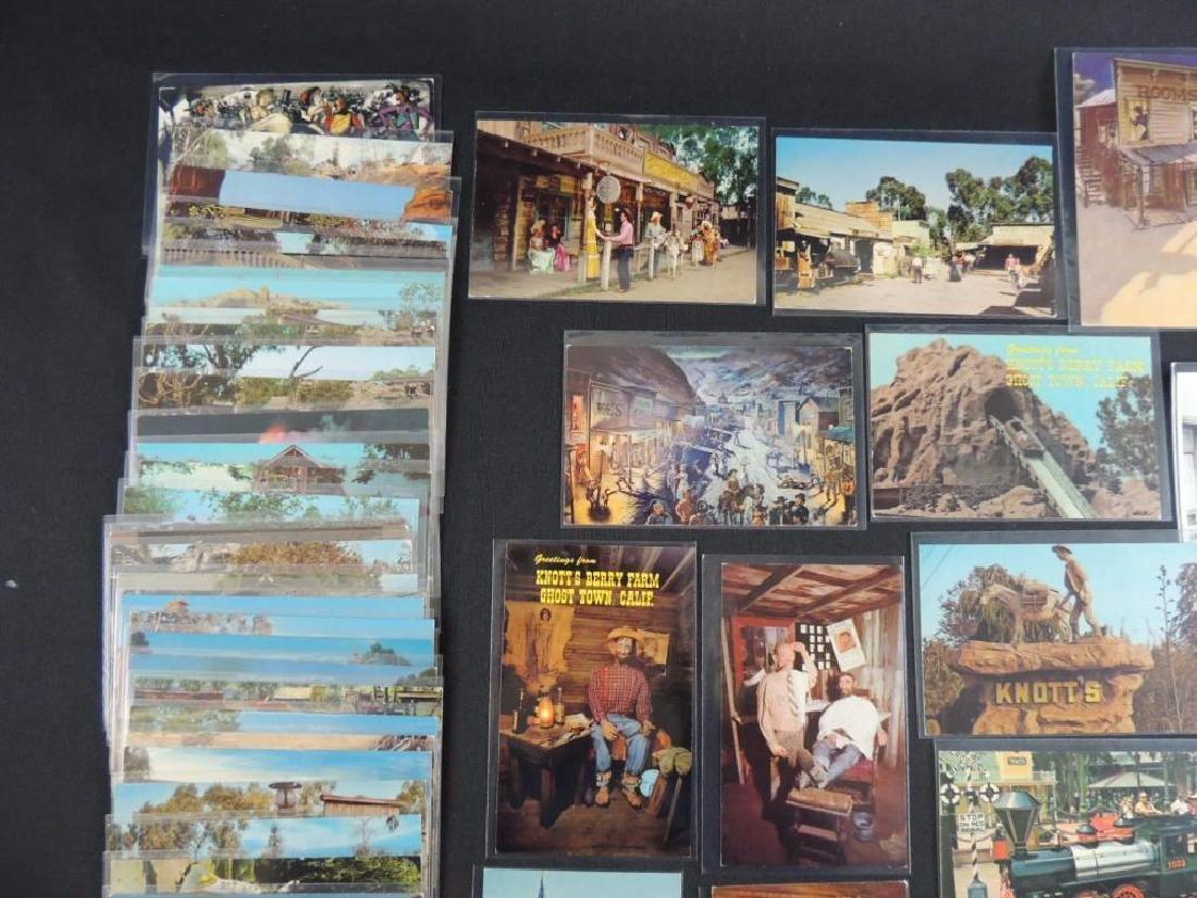 Approximately 60 Plus Knott's Berry Farm Postcards - 5