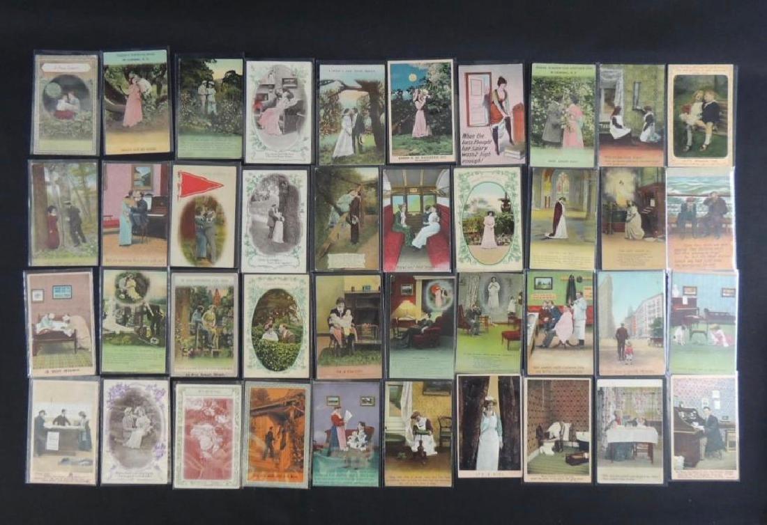 Group of 40 Bamforth Postcards