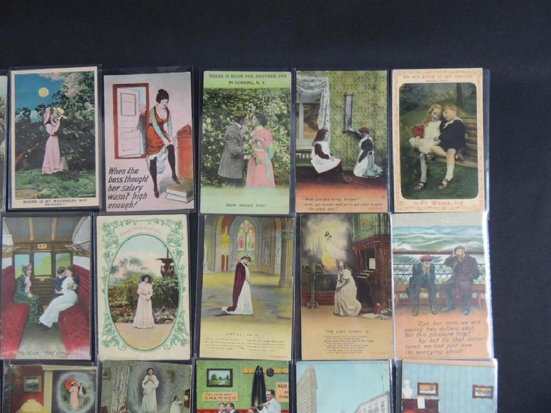 Group of 40 Bamforth Postcards - 2