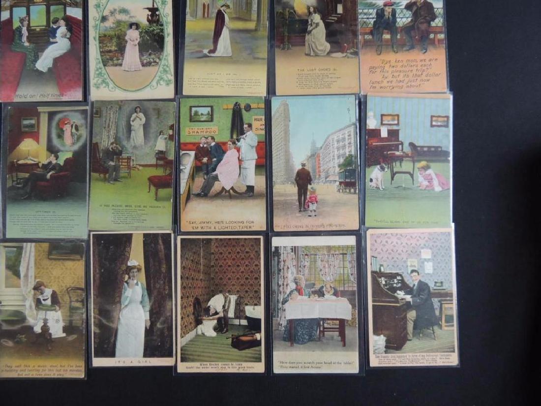 Group of 40 Bamforth Postcards - 3