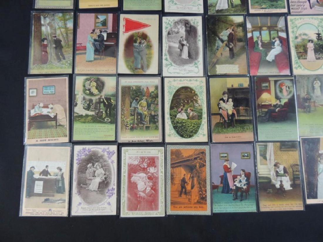 Group of 40 Bamforth Postcards - 4
