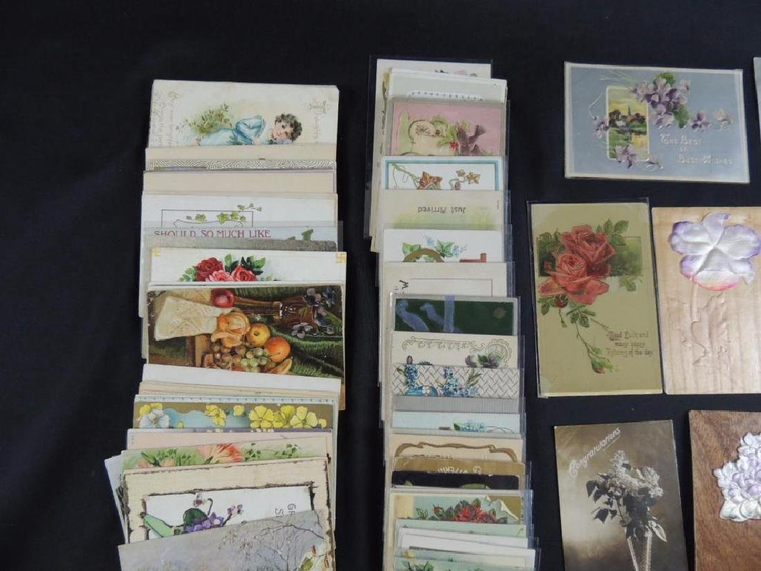 Approximately 100 Plus Greeting Postcards - 5